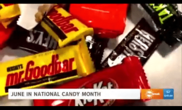 In Beaumont, Texas, KBMT's Morning Show Talked About National Candy Month And Shared Their Favorite Treats.