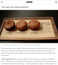 """We're At The Beginning Of A Chocolate Revolution."" Learn Why In This Axios Article."
