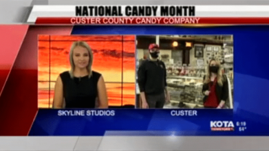 Good Morning KOTA visited Custer County Candy Company to chat about holiday treats.