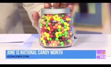 Phoenix's Arizona Daily Mix hosted a contest for National Candy Month.