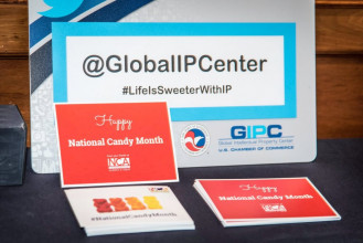 We Partnered With The U.S. Chamber Of Commerce Global Intellectual Property Center And The Senate Press Secretaries Association On An Event Highlighting #NationalCandyMonth.
