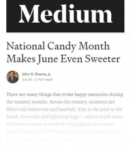 Read More About How National Candy Month Makes June Even Sweeter!