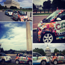 We Teamed Up With Ferrero USA For A Candy Car Caravan Around Washington, D.C. During #NationalCandyMonth.