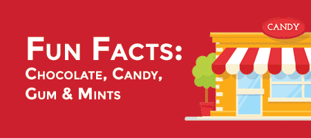 GIFOGRAPHIC — Fun Facts About The Companies That Make Chocolate, Candy, Gum And Mints.