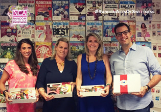 We Delivered #RandomActsOfSweetness To Cathy Merrill Williams, Rebecca McFarland, Susan Farkas At Washingtonian.