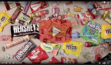 Check Out This #NationalCandyMonth Video By Artist Howard Lee.
