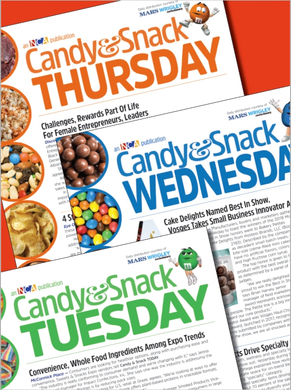 2018 Sweets & Snacks Expo News