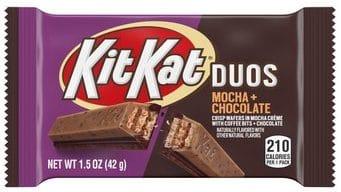 KIT KAT® DUOS MOCHA + CHOCOLATE