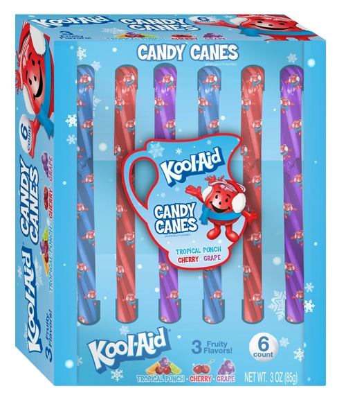 Kool Aid Candy Canes NEW