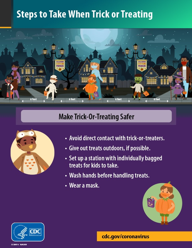 Steps to take when Trick-or-Treating